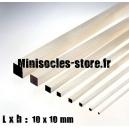 Tige Balsa carrée 10mm