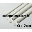 Tige pour rivets 2mm (33cm)