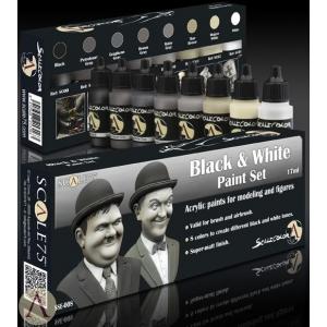 Kit de peinture Noir et Blanc