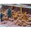 Débris industriels rouillés 1/32-35 (70g)