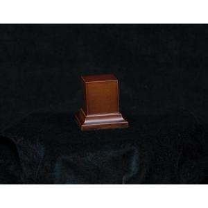 Socle avec piédestal 35mm Marron ou Noir