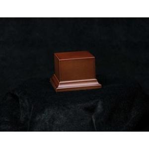Socle avec piédestal 58mm Marron ou Noir