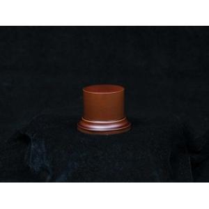 Socle avec piédestal 50mm Marron ou Noir