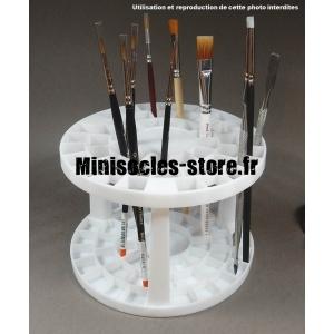 Support à pinceaux et outils en plastique