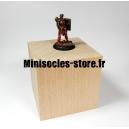 Socle cube hêtre - 80mm