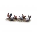 Poules / Coqs N°2 (x7)