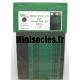 Photo découpe Papier Feuilles de Chêne Vertes 1:35 MINISOCLES