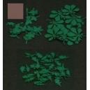 Photo découpe Papier Set N°1 de Feuilles Marron 1:35 MINISOCLES