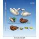 Set de Canards / Cygnes (x8) Echelle 54mm