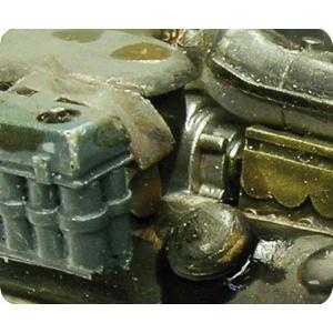 Saletés de moteurs ACRYLIQUE (ENGINE GRIME)