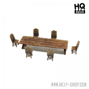 Table et sièges (N°2) 28-32mm