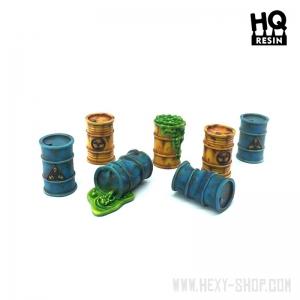 Barils / Bidons Toxiques 28-32mm