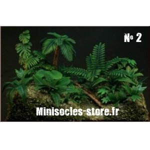 Photo Découpe Papier Plantes Jungle (N°2) 1:35