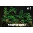 Photo Découpe Plantes Jungle (N°3) 1:35 MINISOCLES