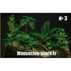 Photo Découpe Papier Plantes Jungle (N°3) 1:35