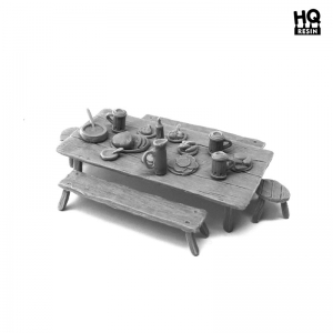 Banquet de village (N°1) 28-32mm