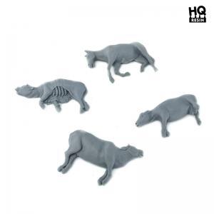 Cadavres d'animaux Echelle 28-54mm