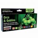 Kit de peinture Orques et Gobelins