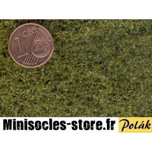 Filet de Floquage / Feuillage feuilles 0.6mm Vert Chatoyant