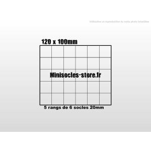 Plateau de mouvement 120x100mm
