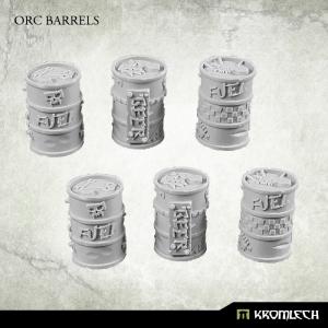 Barils et Bidons Orques / Orks  28-32mm