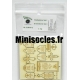 Set de Pierres Tombales (N°1) 1:72 MINISOCLES