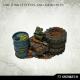 Bidons et Déchets Orques / Orks 28-32mm