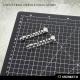 Manomètres industriels 28-32mm (x19)