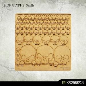 Photo découpe Crânes (x99)