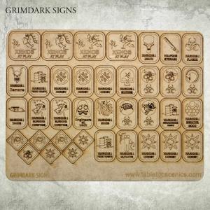 Panneaux Steampunk / Grimdark 40k