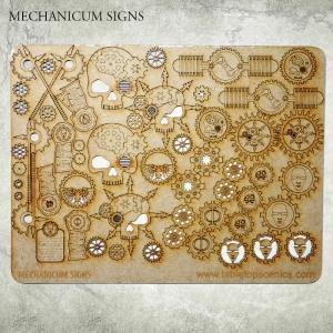 Panneaux et Insignes Mechanicum