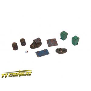 Set d'Accessoires Urbains (x11) Echelle 28-32mm N°3