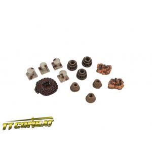 Set d'Accessoires de Docks (x13) Echelle 28-32mm
