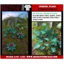 Kit Résine + Photo Découpe Papier Plantes Jungle (N°3) 1:35