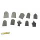 Tombes (x40) Echelle 28-32mm