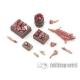 Caisses/Paniers de viande et cochonnailles 28-32mm