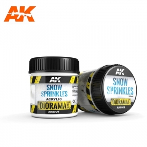 Neige fondue Ak-Interactive (SNOW SPRINKLES) (100ml)