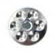 Palette métallique ronde 7 trous