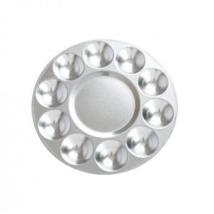 Palette métallique ronde 11 trous