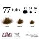 Set de 77 Touffes desséchées (Winter Tuft)