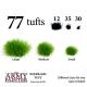 Set de 77 Touffes de forêts (Woodland Tuft)