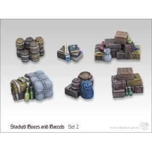 Caisses empilées et Barils (N°2) 28-32mm