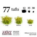 Set de 77 Touffes en fleurs (Meadow flowers)