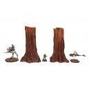 Set de 2 grands arbres