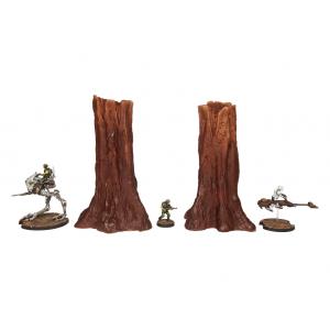 Set de 2 grands arbres N°1