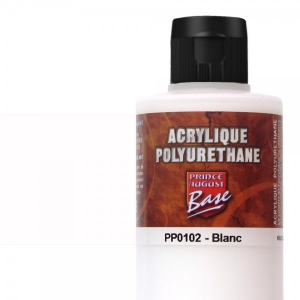 Base Acrylique Polyuréthane, Blanc (60mL)
