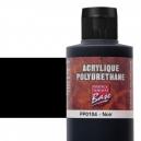Base Acrylique Polyuréthane, Noir (60mL)