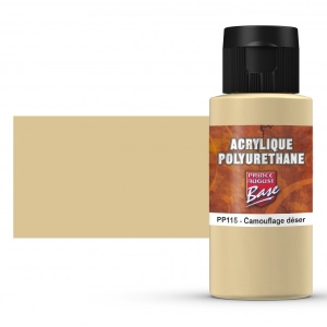 Base Acrylique Polyuréthane, Camouflage désert (60mL)