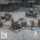 Bidons cassés et entiers / Barricades 28-32mm