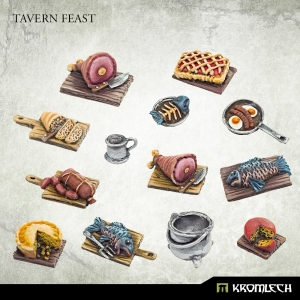 Cuisine de taverne 28-32mm (x13)